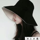 MG 韓版百搭日系文藝遮陽帽遮漁夫帽