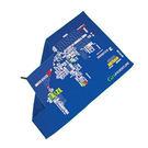LiFEVENTURE 英國 | SoftFibre Trek Towel 抗菌柔軟吸水巾-國名-附袋 | 秀山莊(63065)