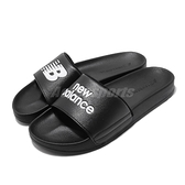 New Balance 涼拖鞋 NB SD1101 黑 白 男鞋 女鞋 基本款 運動拖鞋 拖鞋【ACS】 SD1101HBKM