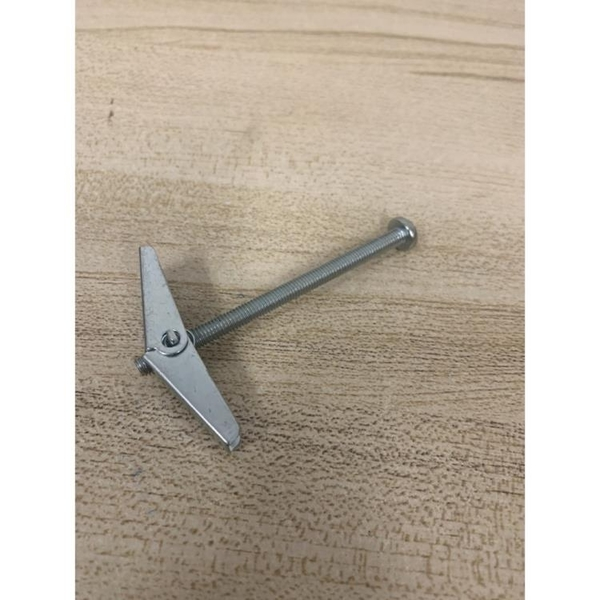 鐵飛機膨脹傘膨脹螺絲蘭花夾配螺栓空心磚石膏板預制板專用(777-11666)