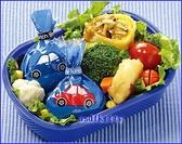 asdfkitty可愛家☆TOMICA小汽車飯糰包裝紙-方便拿取食用-可愛形狀刺激食慾-日本製