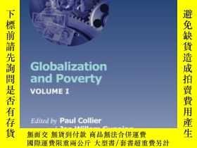 二手書博民逛書店Globalization罕見And Poverty (glob