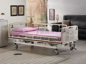 手動病床 手搖床 贈好禮 立新 手搖護理床(三手搖式)E01-ABS 手動病床 醫療床 復健床 醫院病床