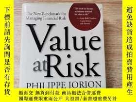 二手書博民逛書店Value罕見At RiskY247260 Philippe Jorion Mcgraw Hill Highe