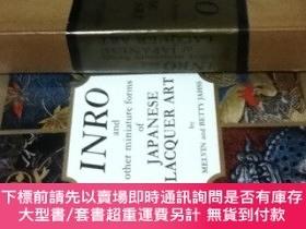 二手書博民逛書店英文)印籠と日本の漆藝小物罕見Inro and other miniature forms of Japanese
