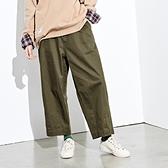 STAYREAL 繭型寬口抽繩褲