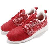 【五折特賣】Nike 休閒慢跑鞋 Wmns Roshe Run One Winter 紅白 雪花 運動鞋 女鞋【PUMP306】685286-661