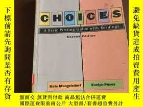 二手書博民逛書店CHOICES罕見A Basic Writing Guide w