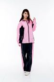 M2R雨衣,二件式 套裝式 風雨衣 M7/黑粉~林森