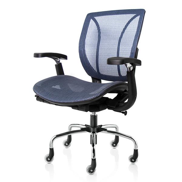 GXG 短背全網 電腦椅 (電金腳、升降扶手) 4+26MM1