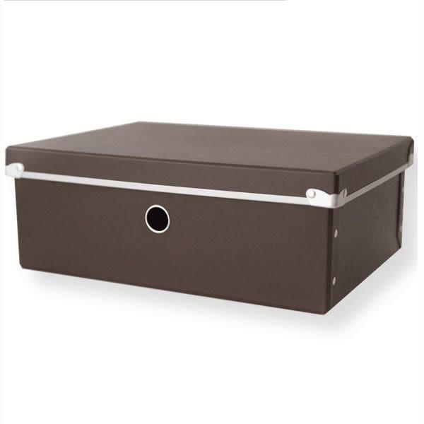 收納盒 箱子 抽屜收納盒【I0139】附蓋硬式紙整理收納盒M(三色)MIT台灣製 收納專科