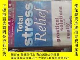 二手書博民逛書店c0016tootal罕見stress relief 水1963