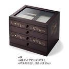 日本製米奇珠寶盒4層木製040877通販屋