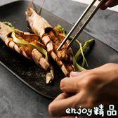 新年鉅惠 創意盤子家用托盤長方形盤子菜盤原創餐盤餐具陶瓷盤子茶盤
