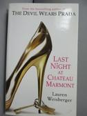 【書寶二手書T8/原文小說_KPI】Last Night at Chateau Marmont_Lauren Weisb