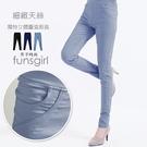 立體設計柔軟天絲耐米褲-3色(M-XL)~funsgirl芳子時尚