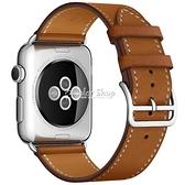 適用apple watch4錶帶蘋果手錶帶S5軟真皮iwatch5/4/3/2/1代潮新運動透氣配件40/44mm 快速出貨