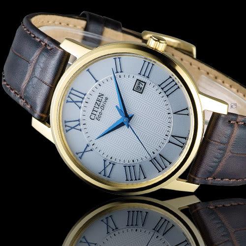 CITIZEN Eco-Drive 羅馬美學經典腕錶 BM6752-02A