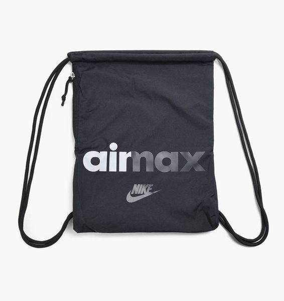 NIKE airmax 抽繩 束口袋 束口後背包 休閒包 後背包 BA5431-015 黑色