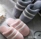 拖鞋-拖鞋女冬季家居室內保暖防滑厚底家用秋冬毛絨居家男士冬天 夏沫之戀