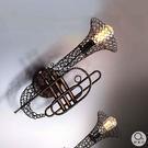 壁燈★典雅精緻 喇叭造型鐵藝壁燈 單燈✦燈具燈飾專業首選✦歐曼尼✦