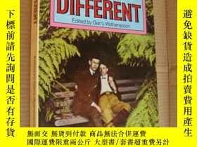二手書博民逛書店Being罕見different (不同的人生,稀見奇特的關於性