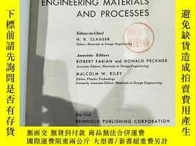 二手書博民逛書店THE罕見ENCYCLOPEDIA OF ENGINEERING MATERIALS & PROCESSES 工程