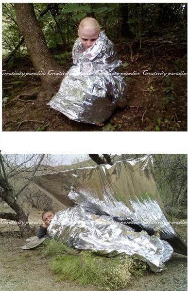 【保溫毯】戶外登山野外露營防災救生毯 急救毯 保暖毯 地震水災降溫失溫緊急救援