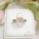 威世登 極簡撞色鑽石戒指-Y H56GHD0946-AEHXX