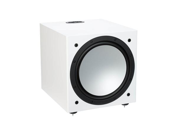 英國Monitor Audio 推薦名展音響專賣店銀Silver W-12 低音喇叭 木紋版
