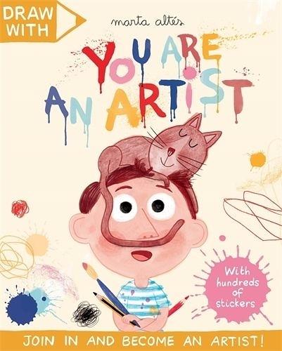 Draw With:You Are An Artist! 你是大藝術家 貼紙著色活動本