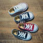 兒童帆布鞋球鞋男童 女童鞋子寶寶嬰兒板鞋白色韓版 俏腳丫