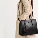 高級感包包女2020新款潮洋氣女士通勤大容量公文包側背斜背托特包 黛尼時尚精品