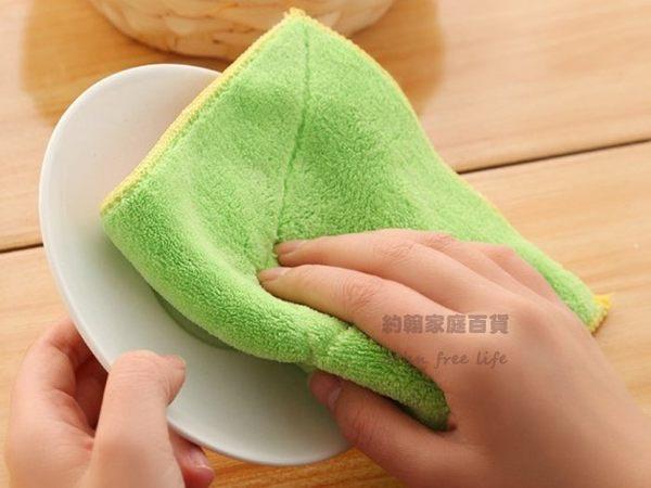超細纖維雙面吸水抹布  洗碗巾 清潔巾 不掉毛 超強吸水性 隨機出貨【CA100】《約翰家庭百貨