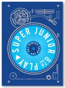 SUPER JUNIOR 第八張正規專輯 PLAY One More Chance 版 台壓版 CD 免運 (購潮8)
