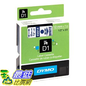 [美國直購] DYMO 45014 Standard D1 Self-Adhesive Polyester Tape for Label Makers 1/2 inch x 23 標籤紙