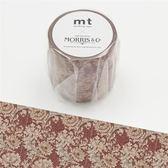 William Morris・Chrysanthemum mt和紙膠帶【KAMOI mt】