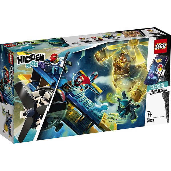 樂高積木 LEGO 2019《 LT70429》Hidden Side 系列 - El Fuego's Stunt Plane╭★ JOYBUS玩具百貨