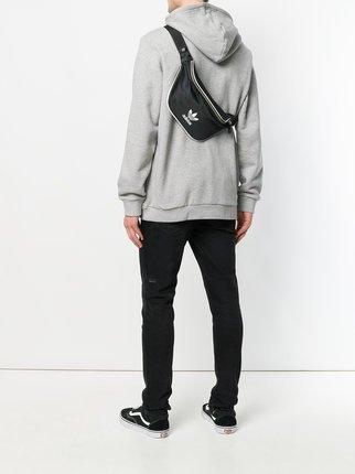 現貨 愛迪達 adidas 三葉草 黑色 腰包 小包 肩包 胸包 CW0609