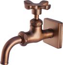 【麗室衛浴】國產 精緻良品 古典花瓣 壁式 室外水栓 單一出水 LS-34239