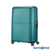 Samsonite新秀麗 28吋Orfeo 簡約方正線條PC嵌入式TSA海關鎖行李箱(湖水藍)