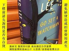 二手書博民逛書店Go罕見set a watchman by Harper Lee