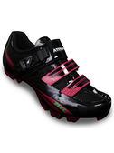 【ATEMPO】MRC 登山車卡鞋 女款 桃紅黑  碳纖大底/SPD/卡踏