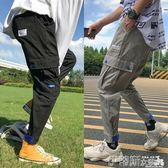 工裝褲男寬鬆潮牌多口袋韓版潮流束腳褲嘻哈九分哈倫休閒褲子 【新品特惠】