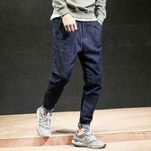 春季男裝日系男士修身牛仔褲 男修身小腳褲 微彈力簡約男長褲子潮 森活雜貨