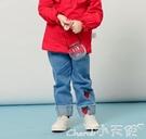 女童牛仔褲春秋3一歲小兒童春裝外穿幼兒防蚊夏薄5嬰兒褲子女寶寶