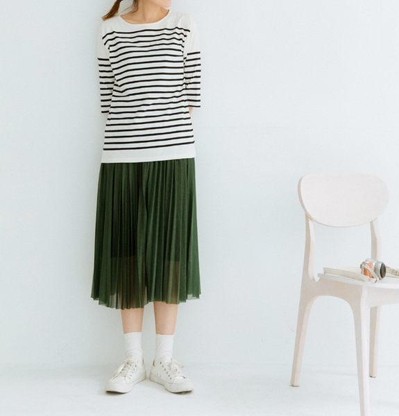 長裙   金絲光澤感有內裏紗長裙    三色原單-CALLING