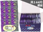 【套套先生】愛貓 螺紋型 144片裝 衛生套 保險套( 家庭計畫 衛生套 熱銷 情趣 推薦 單片5.2元 )