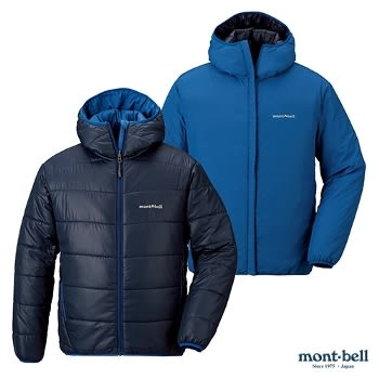[好也戶外]mont-bell THERMALAND男款雙面化纖外套/藍 No.1101409DN/OB