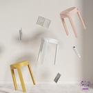 小凳子 家具塑料凳子加厚北歐吃飯家用餐凳...